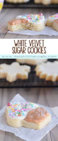 White Velvet Sugar Cookies