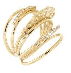18kt gold and diamonds