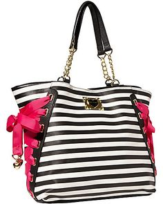trapeze bag with contrast lacing