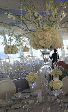 White Themed Large centerpiece