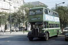 Up the Avenida Double Decker Bus, Bus Coach, Busses, Lisbon Portugal, Historical Photos, Vintage Photos, Old Things, Junho, Photo And Video