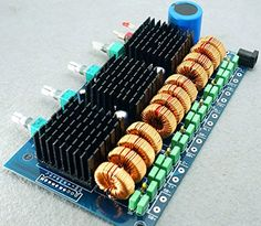Nobsound Assembled TDA7498E 6 Channel 5.1 100wx6 Power Amplifier Board Diy Nobsound http://www.amazon.com/dp/B00L9WFW42/ref=cm_sw_r_pi_dp_dNURub0G0QZKN