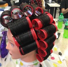 Day 1 Wet Set 2 Hair Pin Curls and More Pinterest