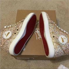 Christian Louboutin Sneakers Worn once, excellent condition Christian Louboutin Shoes Sneakers