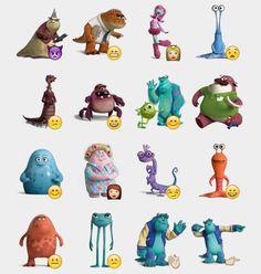 Monsters Inc. Stickers Set | Telegram Stickers