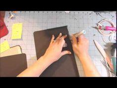 ▶ Scrapbook Folder Folio Tutorial part 2 - YouTube