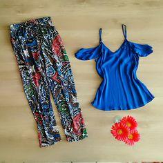 Regata Ciganinha + Harem Pants  Patris Boutique,  prazer em vestir você!