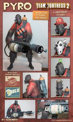 Pyro of Team Fortress 2