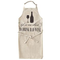Life Is Too Short Apron