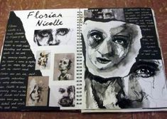 Springwood School - A Level Fine Art -You can find A level art and more on our website.Springwood School - A Level Fine Art - A Level Art Sketchbook, Fine Art, Art Diary, Visual Art, Art, Art Sketches, Art Journal, Book Art, Art Portfolio