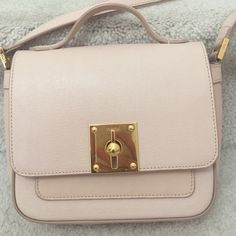 🎉Host Pic🎉💯% Authentic Fendi mini borsa bag Nude color Fendi mini borsa Crossbody bag. Like New, seriously. Worn twice. Great size for a party or night out. This purse is sold out everywhere. FENDI Bags Crossbody Bags