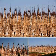 Kakku in Myanmar is an amazing temple complex. 2478 stupas, all different! #travel #myanmar