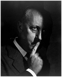 Christian Dior (1905-1957) - French fashion designer, best known as the founder of one of the world's top fashion houses. Photo 1954 by Yousuf Karsh