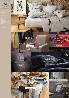 Se společností Power Systems jsme vytvořili zbrusu nový e-shop pro prodej bytových doplňků a ložního prádla. Více na www.confidohome.cz