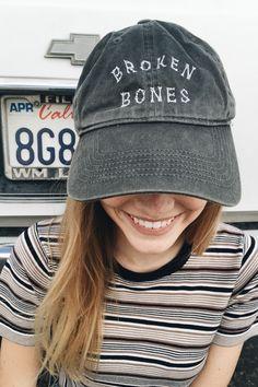 Brandy ♥ Melville | Katherine Broken Bones Cap - Beanies & Hats - Accessories