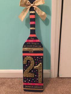 Sorority Paddle for my Littles 21st Birthday!