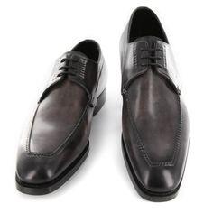 New  3200 Santoni Burgundy Red Leather Shoes - Lace Ups - 9 D 7 F -  (ROSEL-51F) 8058078feb9