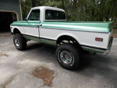 1972 Chevy C-10 4X4 SWB - 4x4 Cars