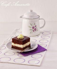 Świąteczna Wuzetka, mocno czekoladowa @cafeamaretto