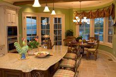 kitchen island - Google Search granite island contour
