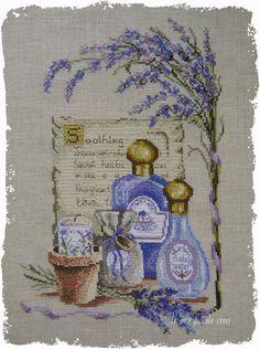 le mie piccole croci: Soothing Lavender / Calmant Lavande