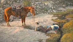 Remembering the incredible talent of Bill Owen, Cowboy Artist Cowboy Pictures, Old Pictures, Cowboy Pics, Cowboy Images, Cowgirl And Horse, Western Cowboy, Real Cowboys, Cowboy Christmas, West Art