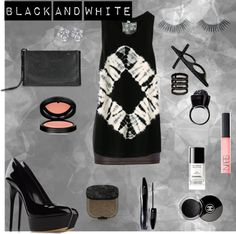 """""""Black And White"""" by isabellatubarao on Polyvore"""