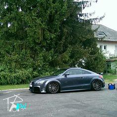 #Audi #TT #Slammed #Stance #Air Ride #Bagged #Grey