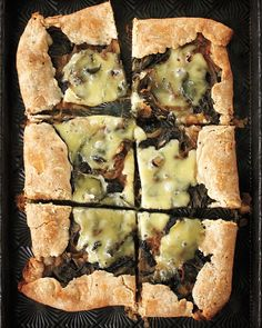 Spinach-Sorrel Tarts - Martha Stewart Recipes