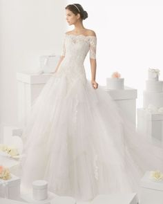 2014 trajes de novia rosaclara | 69 de 121 Modelo Cadaques. Coleccion Rosa Clara 2014. Trajes de Novia ...