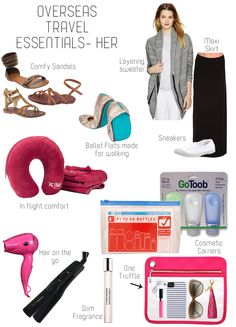 #travel essentials for her