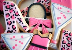 Flour Box Bakery has hand-iced decorated cookie gifts and favors, how-to cookie decorating video tutorials, and professional and affordable decorating supplies. Cookie Frosting, Royal Icing Cookies, Sugar Cookies, Cookie Favors, Cookie Gifts, Almond Cream, Smart Cookie, Barbie, Cookie Designs