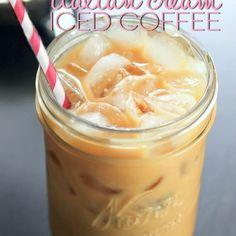 Italian Cream Iced Coffee Recipe Beverages with coffee, cold water, coffee, fat, coffee, creamer, splenda, cinnamon