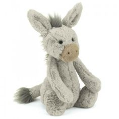 Jellycat Bashful Donkey Medium find it and other fashion trends. Online shopping for Jellycat clothing. The jellycat bashful donkey medium is an absolutely. Cute Donkey, Jellycat, Plush Animals, Sock Animals, Baby Toys, Baby Baby, Little Ones, Baby Gifts, Dinosaur Stuffed Animal