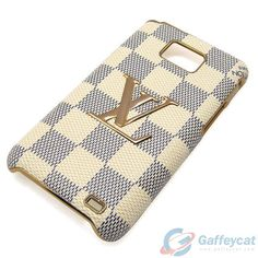 samsung galaxy note2 lv louis vuitton case cover LV plaid white