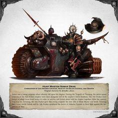 Warhammer 40k Art, Warhammer 40k Miniatures, Chaos 40k, Marine Colors, Monster Illustration, Fantasy Monster, Space Marine, Fantasy Artwork, Drake