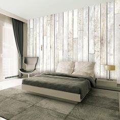 Whitewash Wood Wallpaper Mural Wallpaper Mural - by AllPosters. White Wood Paneling, Shabby Chic Colors, White Washed Furniture, Wood Wallpaper, Wallpaper Murals, Wallpaper Samples, Graphic Wallpaper, White Wallpaper, Wallpaper Online