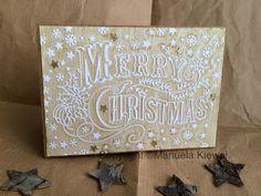 Manu´s Hobbytreff: Vintage Christmas