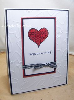 CC565 Happy Anniversary by Scraperwannabe - Cards and Paper Crafts at Splitcoaststampers