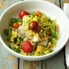 Try this delicious and easy to make Grilled Sea Bass and Corn Salsa Recipe with Hatch Chiles. Roast up some Hatch Chiles while they're in season!
