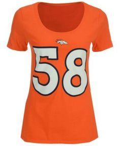 Nike Women's Von Miller Denver Broncos Player Pride T-Shirt - Orange XL