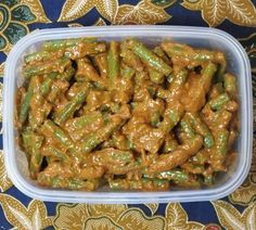 Asian Recipes, Green Beans, Side Dishes, Lunch, Vegan, Vegetables, Food, Indian, Eat Lunch