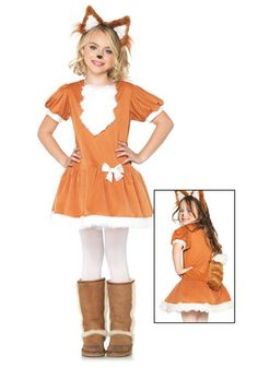 Animal costumes for kids are one of the most popular Halloween choices. Farm animal costumes range from newborn all the way to plus size. Choose a cow costume, lion costume, or even a sheep costume for Halloween this year! Fox Halloween, Toddler Halloween Costumes, Fox Costume, Costume Shop, Costumes For Sale, Diy Costumes, Cheap Fancy Dress, Animal Costumes For Kids, Leg Avenue Costumes