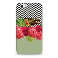 Cases Bird, Flowers and Chevron