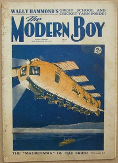 The Future On The Covers of Modern Boy magazine, UK 1920-30´s.
