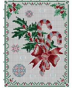 Kreuzstich Christmas Cross, Xmas, Holiday Themes, Stitch 2, Christmas Projects, Cross Stitch Patterns, Needlework, Sewing, Crafts