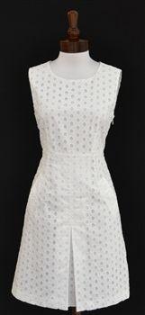 Diane Von Furstenberg -Carpreena White Eyelet Dress