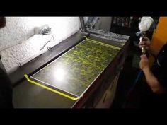 Passo a passo Hidrografia pintura water transfer - YouTube