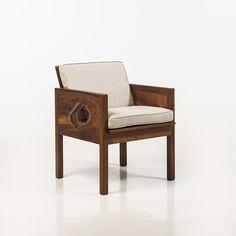Robert Whitley; Walnut Chair, c1970.
