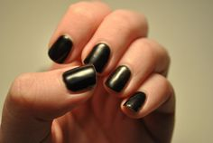 Gelish 'Black Shadow' by TartanHearts, via Flickr